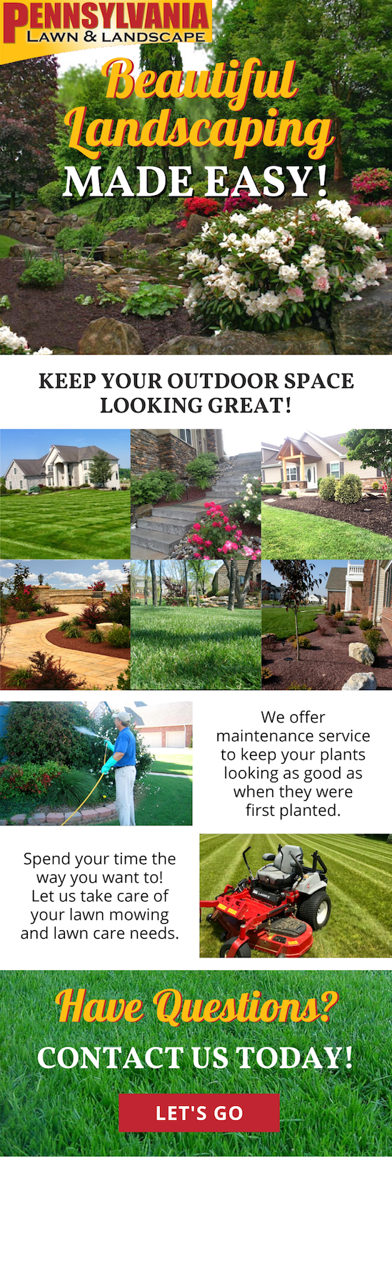 Beautiful Landscaping Made Easy! 3